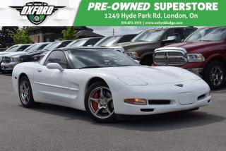 Used 1998 Chevrolet Corvette Very Well Maintained, Summer Vehicle, Dark Tinted for sale in London, ON