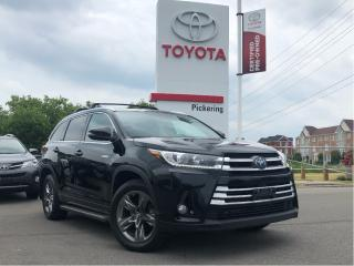 Used 2018 Toyota Highlander Hybrid Limited for sale in Pickering, ON