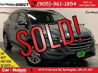 Used 2018 Hyundai Tucson SE 2.0L  AWD  LEATHER  PANO ROOF  for sale in Burlington, ON