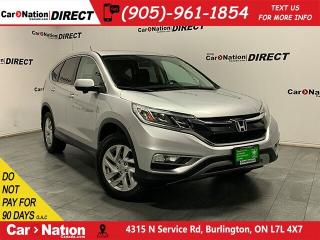 Used 2016 Honda CR-V EX-L| AWD| LEATHER| SUNROOF| for sale in Burlington, ON