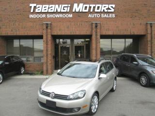 Used 2013 Volkswagen Golf Wagon HIGHLINE | NO ACCIDENT | LEATHER | SUNROOF | B\T for sale in Mississauga, ON