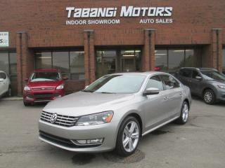 Used 2013 Volkswagen Passat TDI | COMFORTLINE | LEATHER | SUNROOF | SPORT | B\T for sale in Mississauga, ON