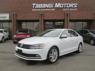 Used 2015 Volkswagen Jetta HIGHLINE | 1.8 TSI | LEATHER | SUNROOF | REAR CAM | HTD SEAT for sale in Mississauga, ON
