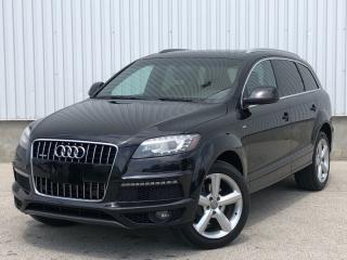 Used 2012 Audi Q7 Premium Plus S-Line|Accident Free| 7 Passenger|Blind Spot for sale in Mississauga, ON