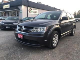 Used 2016 Dodge Journey SE 2016 Dodge Journey SE for sale in Bloomingdale, ON