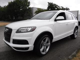 Used 2011 Audi Q7 TDI quattro Premium Diesel S-line 3rd row seating for sale in Burnaby, BC