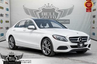Used 2016 Mercedes-Benz C-Class C 300, 360 CAM, NAVI, BLIND SPOT, PANO ROOF for sale in Toronto, ON