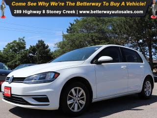 Used 2018 Volkswagen Golf Trendline| AC| Heat Seat| B-Tooth| Backup Cam for sale in Stoney Creek, ON
