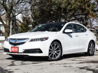 Used 2015 Acura TLX V6 Tech| Sunroof| AWD| Leather| Loaded! for sale in Stoney Creek, ON
