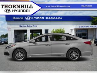 Used 2015 Hyundai Sonata Sport  - Sunroof -  Heated Seats for sale in Thornhill, ON
