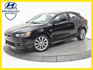 Used 2010 Mitsubishi Lancer GTS, SIÈGES CHAUFFANTS, BLUETOOTH, CRUISE for sale in Brossard, QC