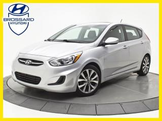 Used 2017 Hyundai Accent SE, TOIT OUVRANT, SIÈGES CHAUFFANTS, BLUETOOTH for sale in Brossard, QC