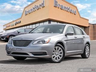 Used 2013 Chrysler 200 LX  -  Power Windows - $91.43 B/W for sale in Brantford, ON