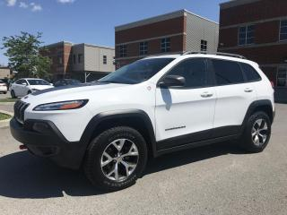 Used 2017 Jeep Cherokee Trailhawk 4 portes 4 roues motrices for sale in Laval, QC