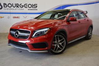 Used 2016 Mercedes-Benz GLA45 for sale in Rawdon, QC