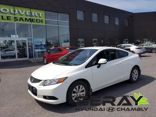 Used 2012 Honda Civic Lx, A/c, Bluetooth for sale in Chambly, QC