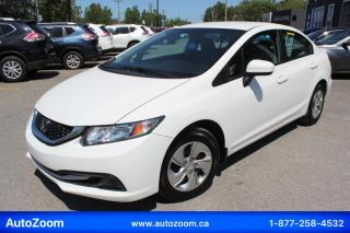 Used 2015 Honda Civic LX **WOW** FINANCEMENT FACILE !! for sale in Laval, QC