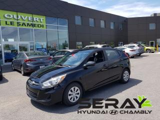 Used 2015 Hyundai Accent Gl, A/c, Bluetooth for sale in Chambly, QC