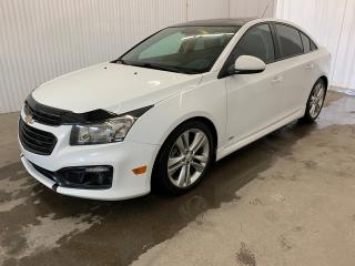 Used 2016 Chevrolet Cruze 2LT RS Cuir Toit ouvrant Caméra MAGS **JAMAIS ACCIDENTE** for sale in Shawinigan, QC