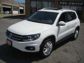 Used 2013 Volkswagen Tiguan Highline 4Motion Navi Sunroof Leather Service Rec for sale in North York, ON