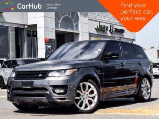 Used 2016 Land Rover Range Rover Sport V8 Supercharged Navigation MassageSeats Panoramic Sunroof for sale in Thornhill, ON
