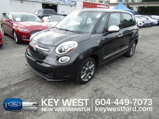 Used 2015 Fiat 500 L Lounge *No Accidents* Sunroof Leather Nav Cam for sale in New Westminster, BC