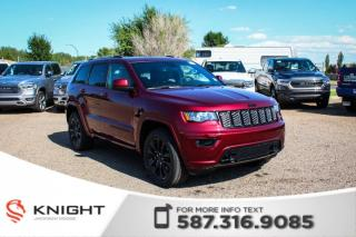 New 2019 Jeep Grand Cherokee Altitude V6 | Leather | Sunroof | Navigation for sale in Medicine Hat, AB