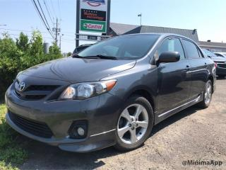 Used 2012 Toyota Corolla S, full cuir, 1 proprio for sale in Drummondville, QC