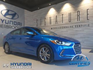 Used 2017 Hyundai Elantra BAS KILO GL+CAMERA+BANCS CHAUF+BLUETOOTH for sale in Sherbrooke, QC