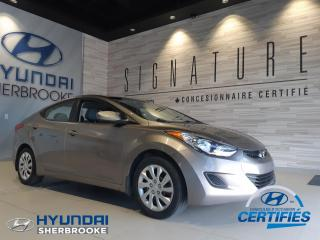 Used 2011 Hyundai Elantra BAS KILO! GL+DEMARREUR+BANCS CHAUFFANTS for sale in Sherbrooke, QC