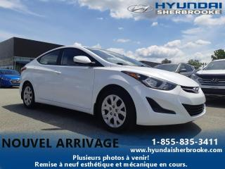 Used 2015 Hyundai Elantra BAS KILO! GL+BANCS CHAUFF+BLUETOOTH for sale in Sherbrooke, QC