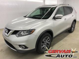 Used 2016 Nissan Rogue SL AWD GPS Cuir Toit Ouvrant MAGS Bluetooth for sale in Trois-Rivières, QC