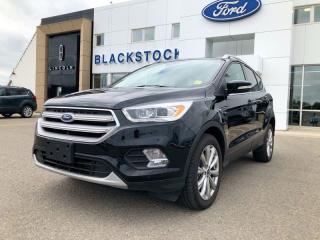 Used 2018 Ford Escape Titanium for sale in Orangeville, ON