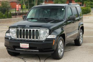 Used 2010 Jeep Liberty Limited Edition Bluetooth | Leather | LIMITED | CERTIFIED for sale in Waterloo, ON