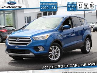 Used 2017 Ford Escape SE**AWD*CAMERA*BLUETOOTH*CRUISE*A/C** for sale in Victoriaville, QC