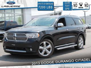 Used 2013 Dodge Durango Citadel Awd 7 Places for sale in Victoriaville, QC
