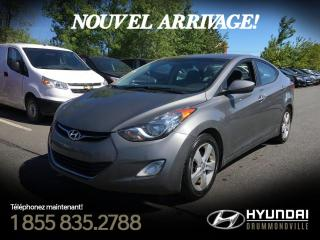 Used 2013 Hyundai Elantra GLS + TOIT + MAGS + FOGS + A/C + CRUISE for sale in Drummondville, QC