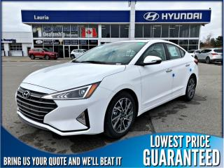 New 2020 Hyundai Elantra LUXURY AUTO for sale in Port Hope, ON