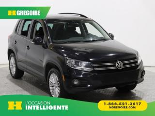 Used 2016 Volkswagen Tiguan COMFORTLINE 4MOT for sale in St-Léonard, QC