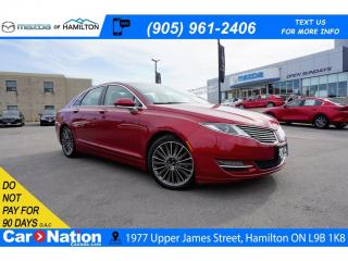 Used 2014 Lincoln MKZ 3.7 AWD | PANO ROOF | LEATHER | NAVI | REAR CAM for sale in Hamilton, ON