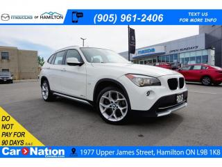 Used 2012 BMW X1 xDrive28i | PANO ROOF | NAVI | LEATHER | AWD for sale in Hamilton, ON