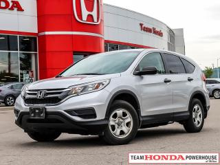 Used 2015 Honda CR-V LX-*1 OWNER|BLUETOOTH|BACKUP CAMERA* for sale in Milton, ON