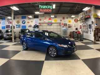 Used 2014 Honda Civic Sedan EX AUT0 A/C SUNROOF BACKUP CAMERA H/SEATS 84K for sale in North York, ON