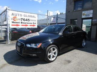 Used 2015 Audi A3 1.8T KOMFORT CUIR*Mags*Toit*TURBO for sale in Montréal, QC
