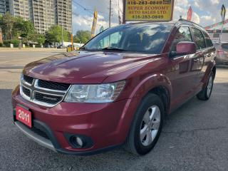 Used 2011 Dodge Journey SXT/Push-Start/Bluetooth/Alloys/Fog Lights/Mint!!! for sale in Scarborough, ON