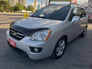 Used 2008 Kia Rondo EX LUXURY/7 SEATS/Leather/Sunroof/Heated Seats!!!! for sale in Scarborough, ON