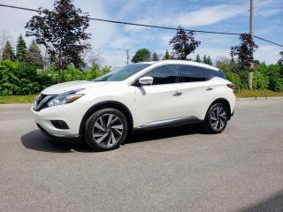 Used 2017 Nissan Murano VENDU for sale in St-Eustache, QC