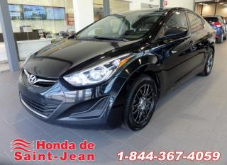 Used 2015 Hyundai Elantra Berline GL Automatique A/C for sale in St-Jean-Sur-Richelieu, QC