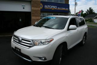 Used 2013 Toyota Highlander 4WD 4DR for sale in Nepean, ON