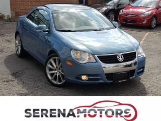 Used 2007 Volkswagen Eos LUXURY PRK | AUTO | FULLY LOADED | NO ACCIDENTS for sale in Mississauga, ON